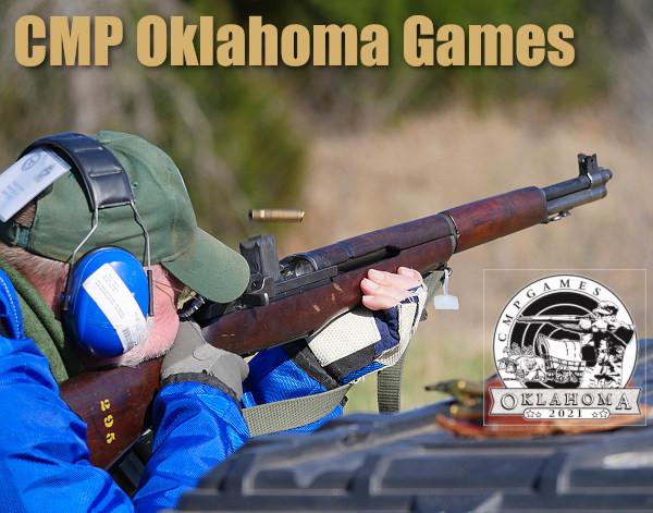 Oklahoma games CMP garand carbine rimfire sporter training