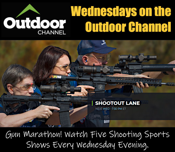 Outdoor Channel Shooting gun TV television cable broadcast Shootout Lane American Rifleman
