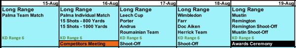 Camp Atterbury Palma Long Range Matches Wimbledon 2021