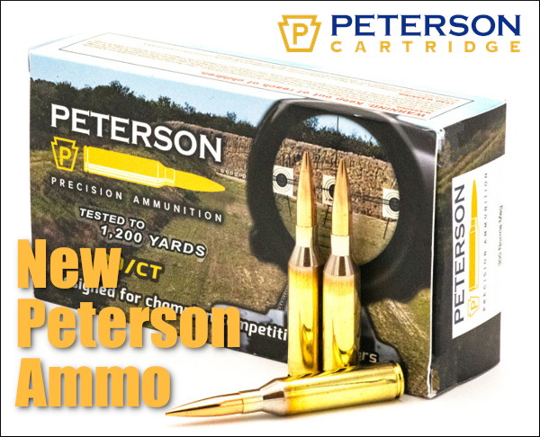Peterson Cartridge ammo ammunition