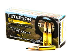 Peterson Cartridge .308 Win Winchester ammo ammunition