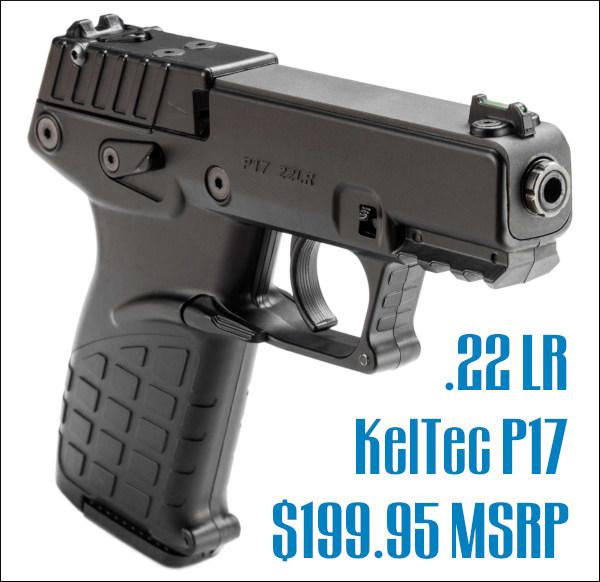 Keltec p17 .22 LR 22LR rimfire pistol handgun