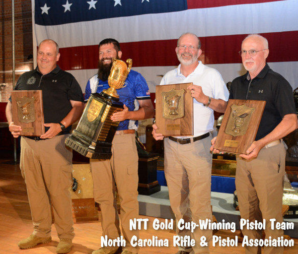 NTT National Trophy Team Pistol Match Camp Perry Gold Cup