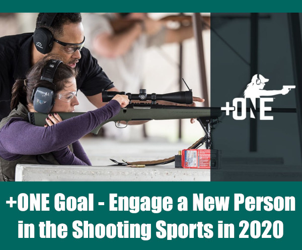 Shooting Sports hunting new join mentor movement +1 +one plus one