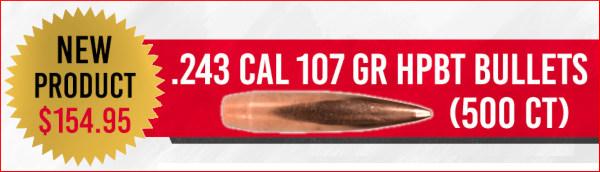 American Bullet Company practice bullets bthp factory seconds 6mm .224 .308 sale bargain