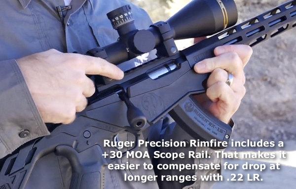 Ruger Precision Rimfire 17 HMR .22 LR WMR