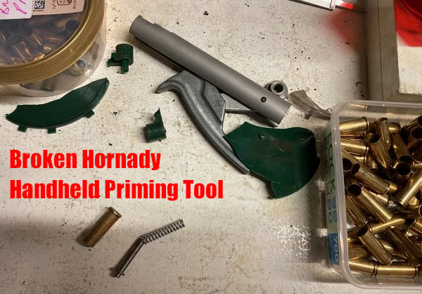 primer flash explosion Hornady handheld primer tool kaboom