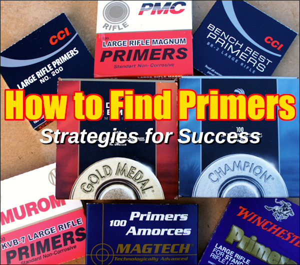 primer sources supplies finding CCI Federal