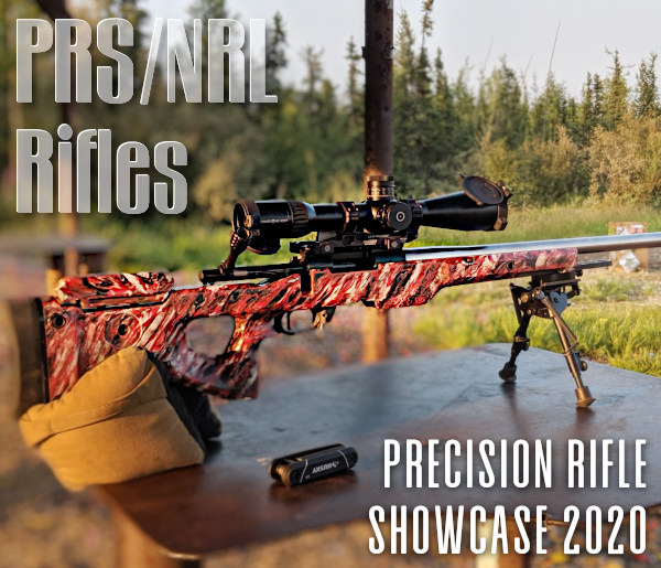 PRS NRL precision rifle showcase GAP Defiance 6mm Creedmoor Manners stocks