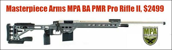 PRS Production Division MPA BA PMR Pro Rifle II $2500