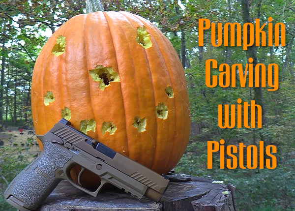 hickok45 youtube pumpkin video model 29 revolver sig M17