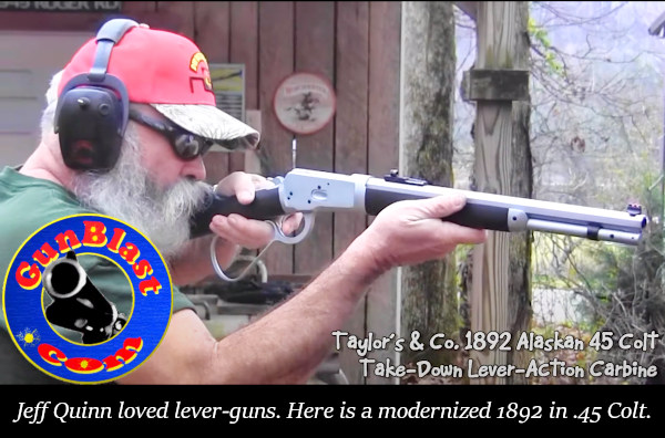Sunday Gunday Jeff Quinn Gunblast gunblast.com lever gun pistol youtube
