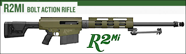 Remington .50 BMG R2Mi rifle bolt action long range Rem
