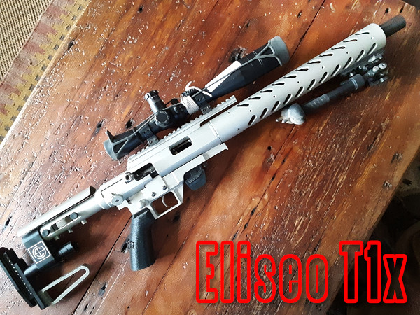 Gary Eliseo tikka T1x chassis competition machine .22 LR