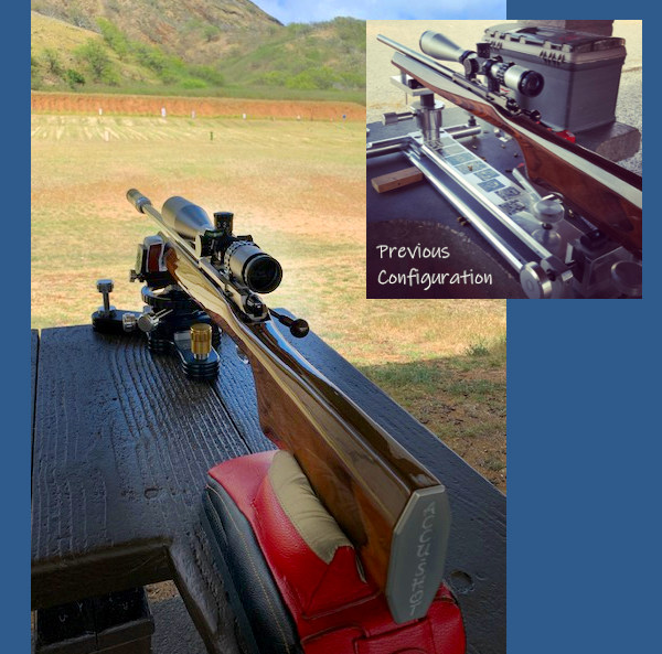 .22 LR benchrest anschutz 2013 lilja barrel shehane stock rifle