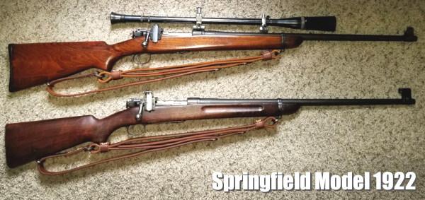 Springfield 1922 M2 M1 CMP Kimber .22 LR rimfire prone rifle