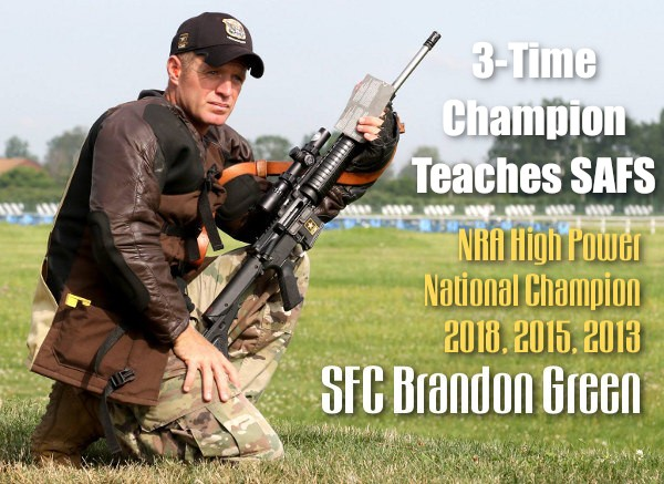 SFC Brandon Green SAFS small arms school CMP marksmanship program