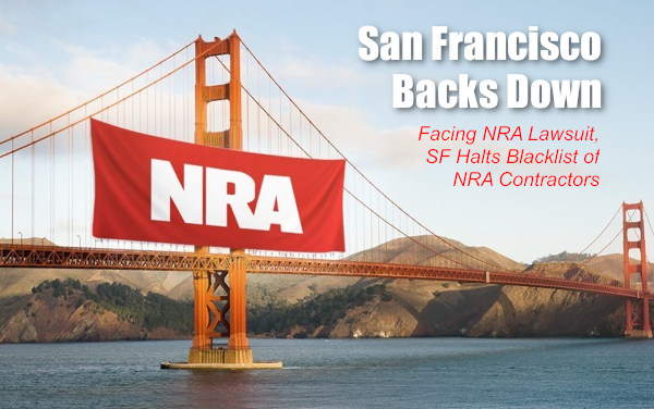 San Francisco corrupt mayor Breed NRA lawsuit