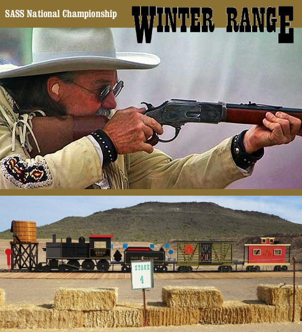 SASS Winter Range Ben Avery Phoenix Cowboy action mounted shooting