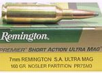 7mm Remington SAUM S.A. Ultra Magnum