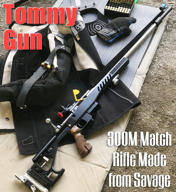 300m meter Savage BVSS .260 Remington Shilen barrel Chassis prone rifle