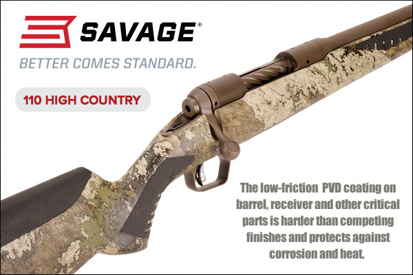 Savage High Country model 110