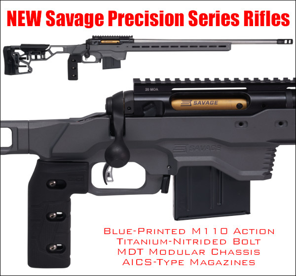 Savage Precision Elite 110 PRS NRL GAP Grind rifle MDT Chassis Modular Driven