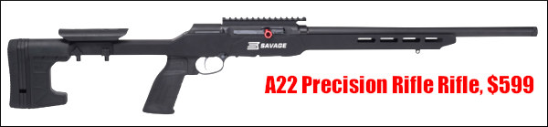 Savage A22 Precision Elite rimfire