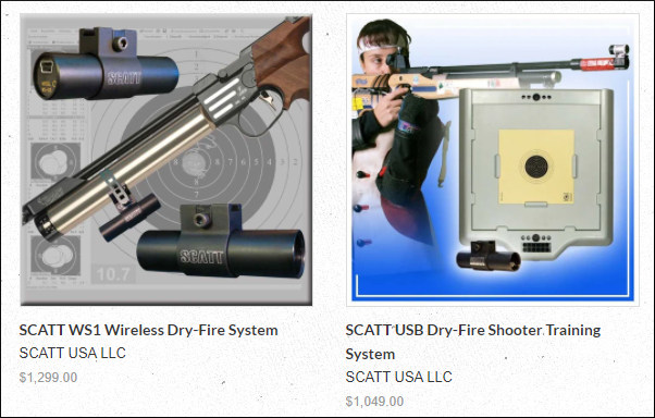 SCATT Dry-Fire Training MX-02 MX-w2 WSB WS-1