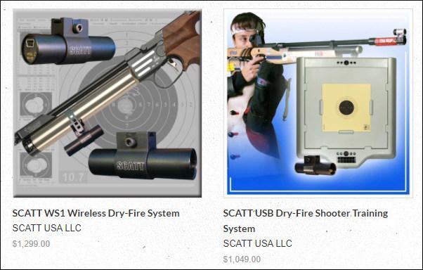 SCATT Dry-Fire Training MX-02 MX-w2 WSB WS-1