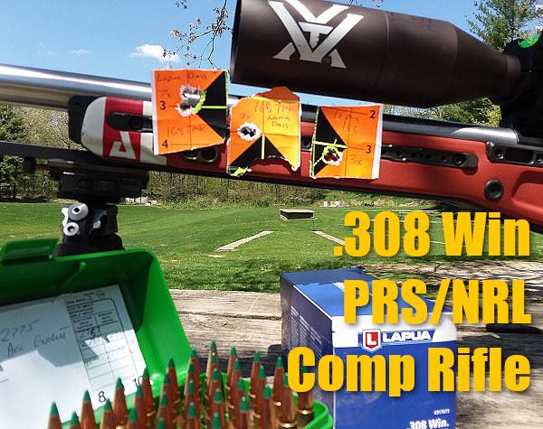 Jim See Elite Accuracy .308 Win Winchester Brux Impact PRS NRL Precision Vortex Viper Lapua Berger