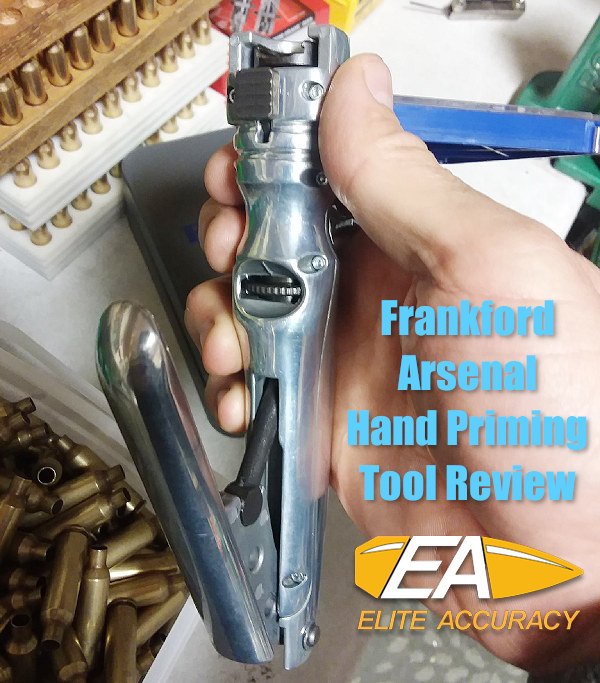 Frankford Arsenal Perfect Seat Hand Primer Platinum series priming tool grip adjustable