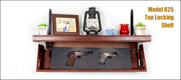 tactical walls shelf gun safe storage wall