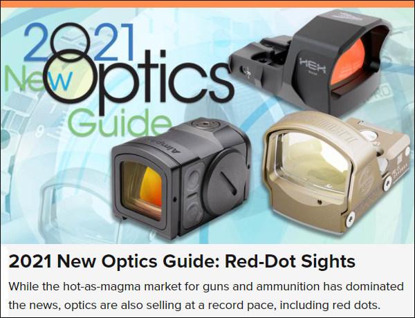 pistol handgun red dot sights shooting illustrated website upgrade