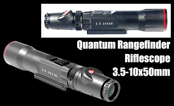 laser rangefinder scope riflescope quantum burris eliminator