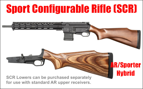 fightlite sport configurable rifle SCR AR15 AR plaform sporter