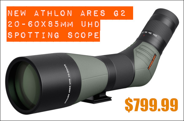 Athlon Ares spotting scope 20-60 UHD G2