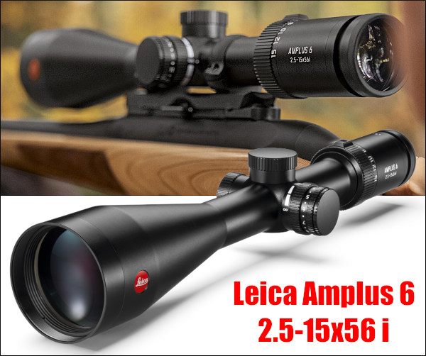 Leica Amplus 6 rifle hunting scope 6x zoom