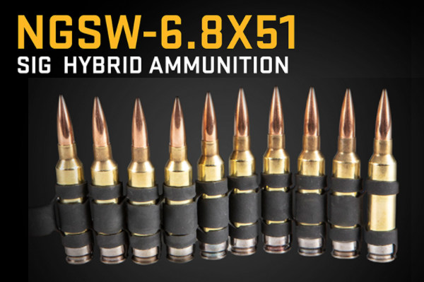 Sig Sauer NGSW Weapons 277 Fury 6.8x51 hybrid system