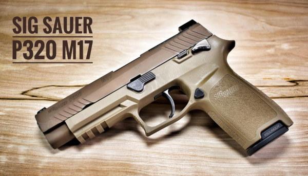 Sig Sauer M17 M18 P320 pistol modular handgun Army