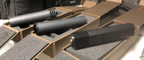 SilencerCo Suppressor Hybrid 300 Omega Osprey moderator sound
