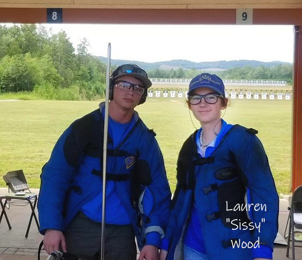 California CA Grizzlies high power junior shooting team lauren sissy wood profile CMP