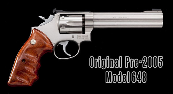 smith wesson S&W model 648 revolver wheelgun .22 WMR Winchester magnum rimfire 6