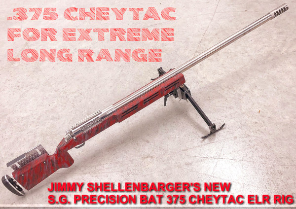 .375 Cheytac Extreme long range rifle ELR BAT Action McMillan Stock Beast Terminator Muzzle Brake SG Precision