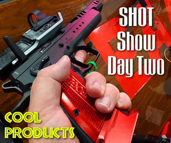 shot show 2020 rifles pistols specials