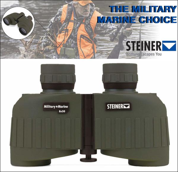 Steiner model 2033 8x30 military marine binoculars