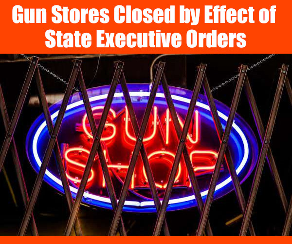 Coronavirus heath covid-19 executive order health shelter place stay home crisis gun store FFL