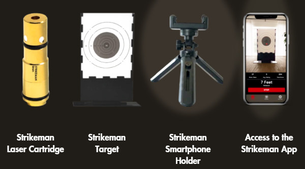 strikeman laser cartridge dry fire training target