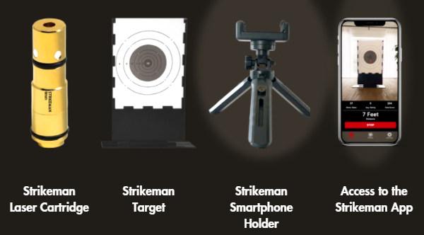 strikeman laser cartridge dry fire training target