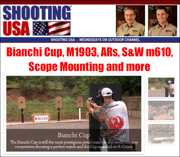 bianchi cup shooting usa tv model 1903 springfield sniper rifle